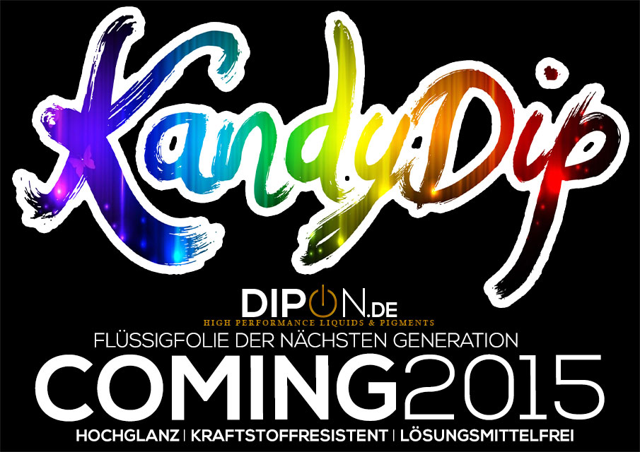 KandyDip - by DIPON.DE GASOLINE RESISTANT PERFORMANCE RUBBER DIP