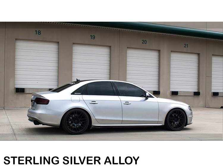 Präsentationsbedarf Silber Flakes Metallic Glitter Glitzer Lack Metallflakes Sprühfolie Dip 100% Garantie