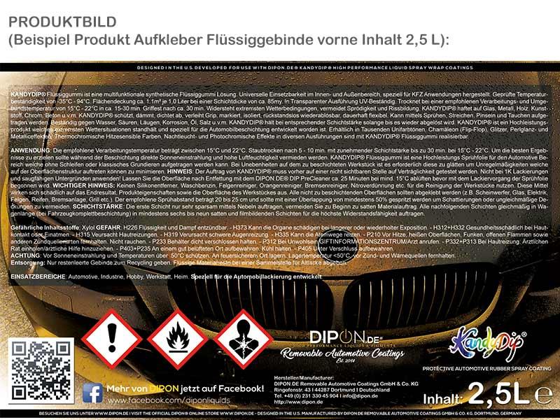 KandyDip® RAL 4010 Telemagenta Sprühfolie Autofolie kompatibel mit Plasti Dip®