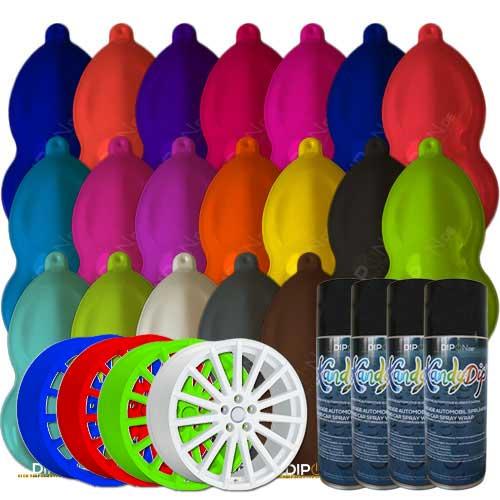 Gut gemocht Original KandyDip® Sprühfolie Spray Flüssiggummi 400ml Felgenfolie IB48
